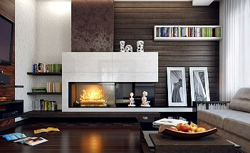 living-room-marvelous-dark-brown-wood-paneled-living-room-decorating-ideas-with-modern-fireplace-and-nice-grey-fabric-sofa-on-the-parquet-floor-enchanting-living-room-decorating-ideas-with-modern-styl