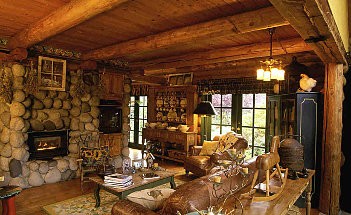 interior-fancy-image-of-country-style-interior-living-room-decoration-using-natural-stone-fireplace-including-rustic-solid-oak-wood-beam-ceiling-in-living-room-and-upholstered-light-brown-faux-leather